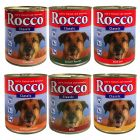 Assorted Trial Pack Rocco Classic 6 x 800g - 6 assorted flavours - Dog Foods