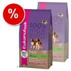 Eukanuba Puppy & Junior Lamb & Rice - Economy Pack: 2 x 15 kg