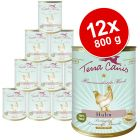 Terra Canis Sensitive 12 x 800 g Saver Pack - Beef with Courgette, Squash & Oregano