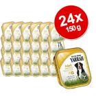 Yarrah Organic Trays  Saver Pack 24 x 150 g - : Beef with Spirulina