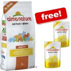 12 kg Almo Nature Holistic + 2 Almo Nature Pouches Free! - 12 kg Chicken & Rice
