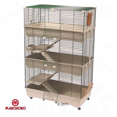 Marchioro Tommy 102 C3 Pet Cage - Base Beige