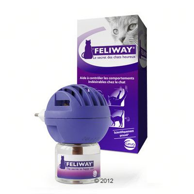 Feliway Diffuser and Refill Vial - Economy Pack: 3 x 48 ml Refill Vial