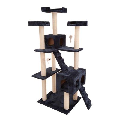 Cat Tree Rapunzel - dark blue