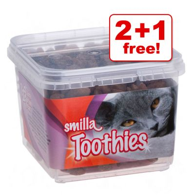 125g Smilla Toothies Dental Care Snacks 2 + 1 Free! - 3 x 125g