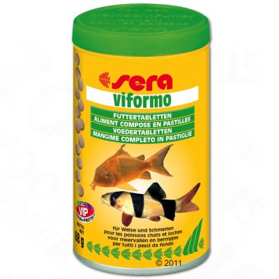 Sera Viformo Feeding Tablets  - 700 tablets (250 ml)