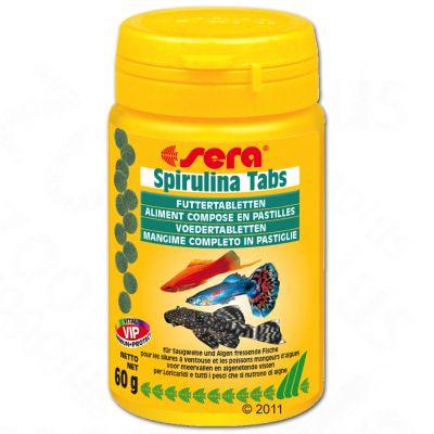 Aliment en comprimés Sera Spirulina- 100 comprimés