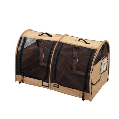 Sturdi Show Shelter Double Euro - black