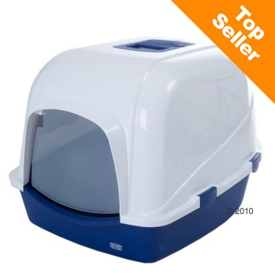 Cat House Toilet - Jumbo - Blue