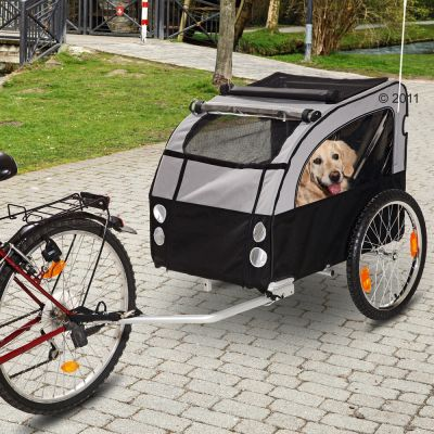 No Limit Doggy Liner 1 - Dog Bike Trailer - 148 x 81 x 87 cm (L x W x H)