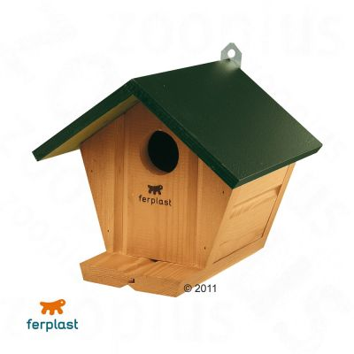 Ferplast Nesting Box Natura - 17 x 15.5 x 19 cm (L x W x H)