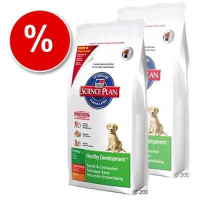 Hill's Puppy Healthy Development Large Breed with Chicken - Economy Pack: 2 x 12 kg