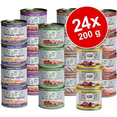 Grau Gourmet Grain-Free Mega Trial Pack 24 x 200 g - 24 x 200 g