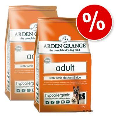 Arden Grange Dog Adult Chicken & Rice - Economy Pack: 2 x 15 kg