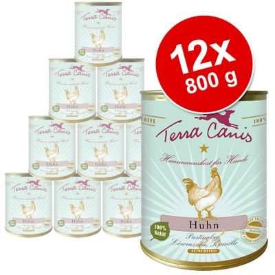 Terra Canis Sensitive 12 x 800 g Saver Pack - Venison with Potatoes, Broccoli & Cranberries