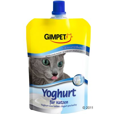 Gimpet Yoghurt for Cats - Saver Pack: 6 x 150 g