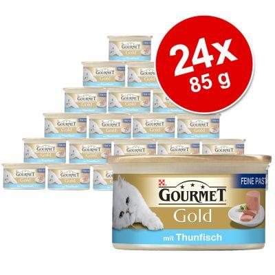 Savings Pack Gourmet Gold Pâté Recipes 24 x 85g - Duck & Spinach