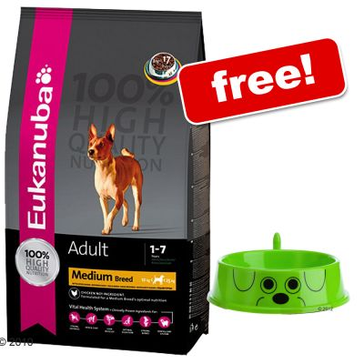 Large Bags of Eukanuba Dry + zooplus Dog Bowl Free! - Adult Large Breeds Weight Control 15 kg