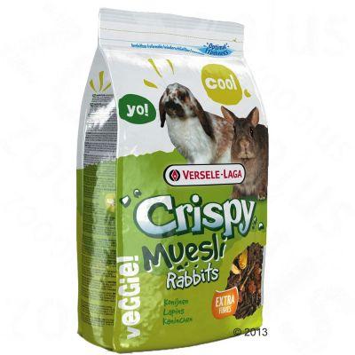 Crispy Muesli pour lapin nain - 2,75 kg