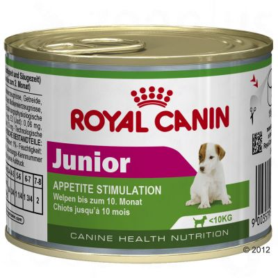 Royal Canin Wet Mini Junior - Appetite Stimulation - Saver Pack: 12 x 195g