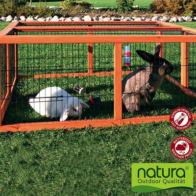 Trixie Natura Outdoor Run - 4 Sided - 109  x 116 x 48 cm (L x W x H)