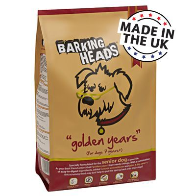 Barking Heads Golden Years Senior Dog Food 2kg