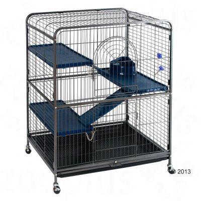 Cage Perfect pour furet et rongeur - L 79 x l 52 x H 99