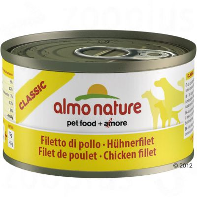 Almo Nature Classic 6 x 95g - Chicken Fillet