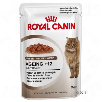 Royal Canin Ageing +12 in Jelly - Saver Pack: 24 x 85g