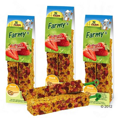 JR Farm Farmy's 6 Pieces - Strawberry (6 Pieces)
