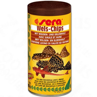 Aliment en comprimés Sera Wels-Chips- 250 ml