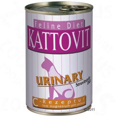 Kattovit Urinary Low Magnesium - Savings Pack: 24 x 400g