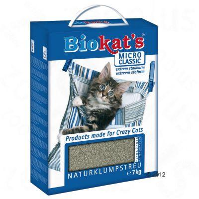 Biokats Micro Cat Litter - Economy Pack: 2 x 7 kg