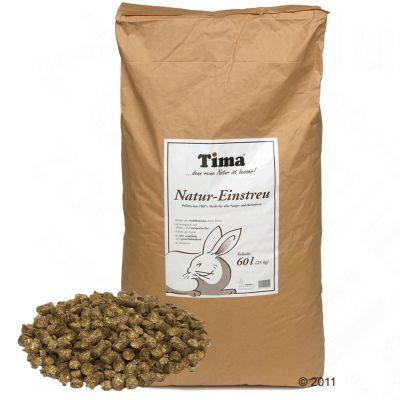 Tima Natural Small Pet Bedding Straw Granules - 60 l (ca. 24 kg)