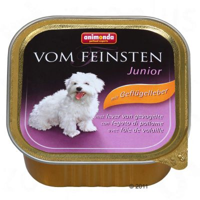 Animonda vom Feinsten Junior 6 x 150 g - Gefluegelleber