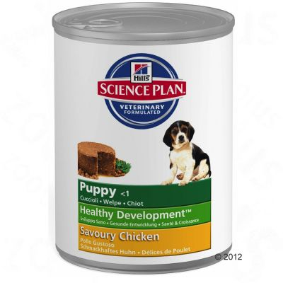 Hill's Science Plan Puppy Healthy Development - Chicken - 6 x 370g