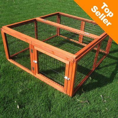 Enclos Outback Compact, carre pour rongeur et lapin - enclos uniquement : L 116 x l 109 x H 48 cm