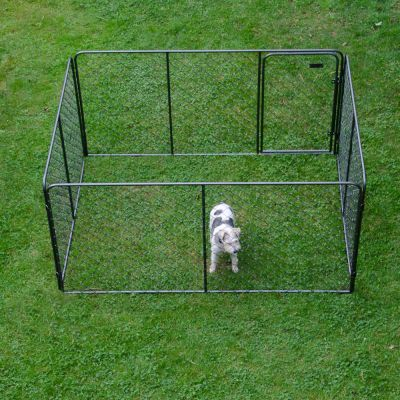 Kennel Enclosure for Dogs & Small Animals - 205 x 155 x 102 cm (LxWxH)