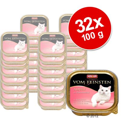 Megapack Animonda vom Feinsten Classic 32 x 100 g - Turkey Hearts