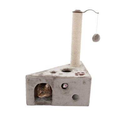 Arbre à chat Cheese- gris clair