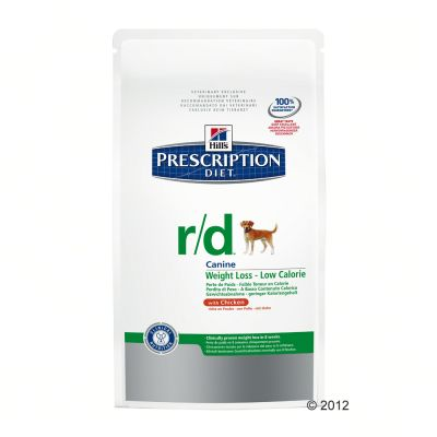 Hill's RD Prescription Diet Canine - Weight Loss/Low Calorie - Economy Pack: 2 x 12kg