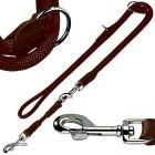 Hunter Adjustable Lead Freestyle Brown - 200 cm long,  10 mm
