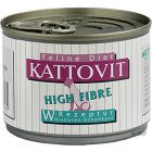 Kattovit High Fibre - Savings Pack: 24 x 175 g