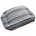 Cuddle Pillow Chocolate-Striped - 80 x 65 x 12 cm (for basket size 90cm)