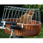 Pet Bicycle Basket XXL with Protective Wire - 70 cm x 50 cm x 42 cm (LxWxH)