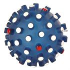 Trixie Coloured Spiky Ball - Blue: 6.5 cm diamater