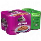 Whiskas Cans Jelly Selection 6 x 390 g - Jelly Fish Selection
