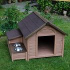 Dog Kennel Sylvan Comfort - Size L: 107 x 89 x 83 cm (L x W x H) (2 packages*)