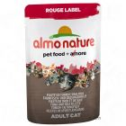 Almo Nature Rouge Label Fillets in Pouches 6 x 55 g - Tuna Fillet & Seaweed