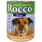 Rocco Menu 6 x 800 g - Lamb with Vegetables & Rice